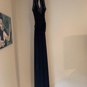 BCBG Dresses - BCBG drape Black  Dress